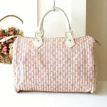 Tagre™ Louis Vuitton Bag Croisette Pink Speedy 30 Authentic Vintage Handbag