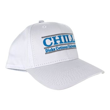 Official 3Bar Game Collab Hat - CHILL (Dicks Cottons University)