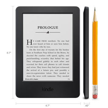 "Amazon Kindle 6"" Glare-Free Touchscreen Display Wi-Fi eBook eReader"