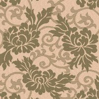 Safavieh Courtyard Cram / Green Contemporary Rectangular Rug - CY6957-14 - Green Rugs - Area Rugs by Color - Area Rugs