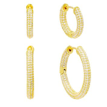 Combo Set Hoop Earring