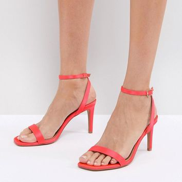 ASOS HALF TIME Barely There Heeled Sandals at asos.com