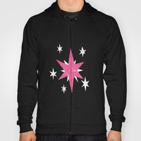 my grunge little pony.. twilight sparkle Hoody by studiomarshallarts