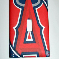 Light Switch Cover - Light Switch Plate California Angels baseball