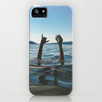 Lake Vibes iPhone & iPod Case by Bronson Sneling