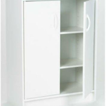 ClosetMaid® 898200 Storage Organizer with 2 Adjustable Shelves, White
