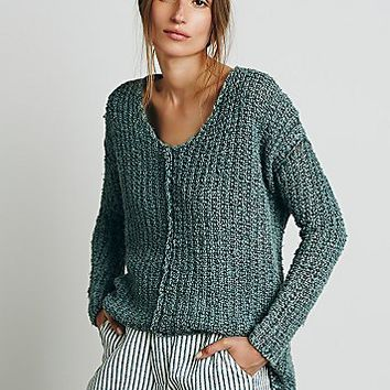 Free People Womens Dreamweaver Pullover