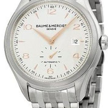 Baume and Mercier Clifton Stainless Steel Automatic Watch MOA10141
