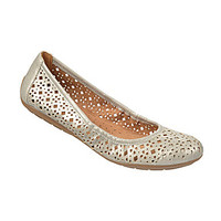 Naturalizer Undone Metallic Laser-Cut Flats