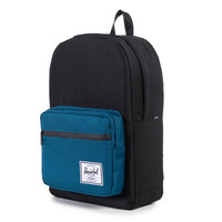 Herschel Supply Co.: Pop Quiz Backpack - Black / Ink Blue