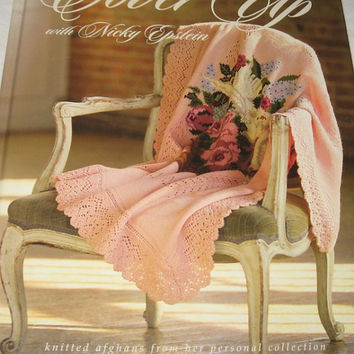 Cover Up Afghan Pattern Book Nicky Epstein Home Decor Knitting Crochet Patterns Projects Flowers Zodiac Children Decoration Birds Bunnies