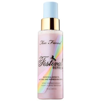 Festival Refresh Spray – Life's A Festival Collection - Too Faced | Sephora