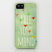 free your mind iPhone Case by Sylvia Cook Photography | Society6