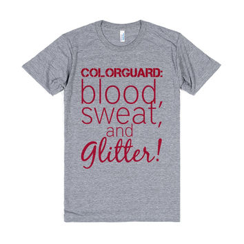Colorguard: Blood, Sweat, and Glitter!