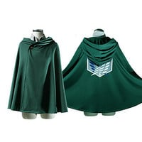"Attack on Titan Recon Corp ""Wings of Freedom"" Cosplay Cape"