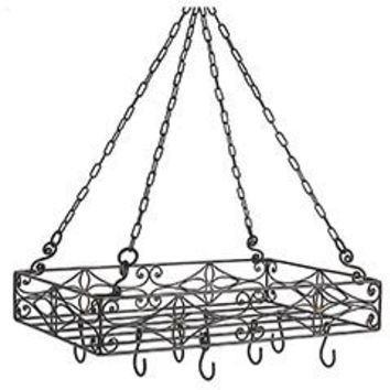 Rectangle Hanging Pot Rack : Pier 1 Imports