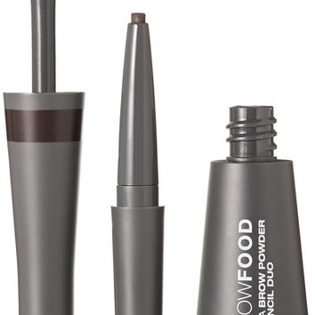 LashFood - BrowFood Aqua Brow Powder + Pencil Duo - Dark Brunette