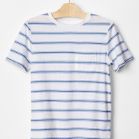 Gap Boys Stripe Pocket Tee
