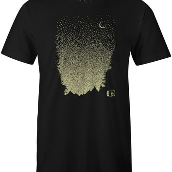 Starry T-Shirt Black