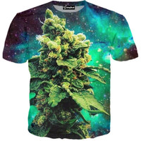 Weed of the Galaxy Tee