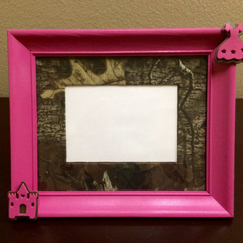 Pink Camo Picture Frame Realtree Camouflage Hunter Teen Tween To
