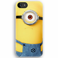 Funny Cute Cyclops with google despicable me minion - Apple iPhone 5, iphone 4 4s, iPhone 3Gs, iPod Touch 4g case by Pointsale Store