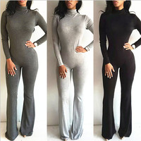 New 2016 women Bodysuit Bodycon Jumpsuit Sexy Jumpsuit rompers womens Jumpsuit sexy club Bodysuit Jumpsuits combinaison femme