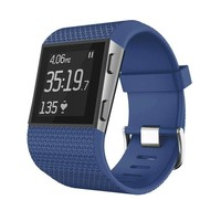 Fitbit Surge Fitness Superwatch Activity Tracker - Blue - Small