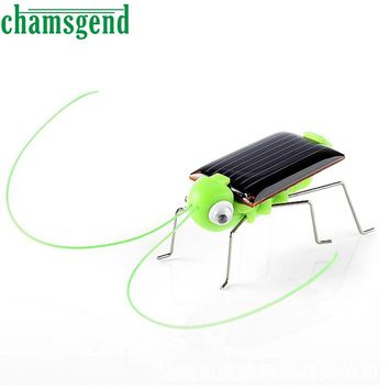 Solar grasshopper Educational Solar Powered Grasshopper Robot Toy Solar Powered Toy Gadget Gift solar toys for kids DB11 P30x