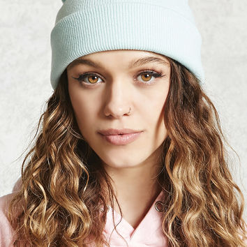 Knit Fold-Over Beanie
