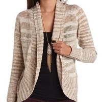 Marled Open Cocoon Cardigan