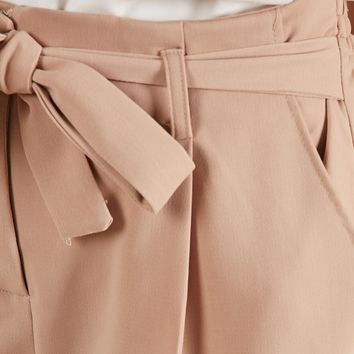 Rapid Fire Pants in Camel Produced By SHOWPO