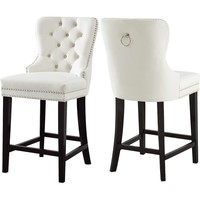 "Costigan Velvet 26"" Bar Stool"
