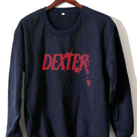 dexter Sweatshirt Crewneck Men or Women Unisex Size
