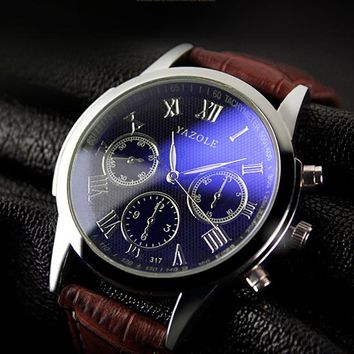 YAZOLE 2017 Men Wrist Watches Male Quartz Watch Men Business Casual Clock Boys Top Brand Luxury Famous Hodinky Relogio Masculino