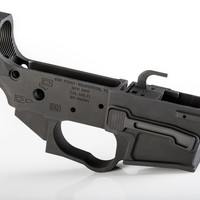 GUN POINT - GLOCK SMALL FRAME AR15 STRIPPED BILLET LOWER RECEIVER SALE !!!