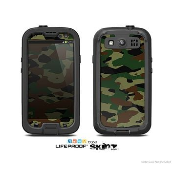The Traditional Camouflage Skin For The Samsung Galaxy S3 LifeProof Case