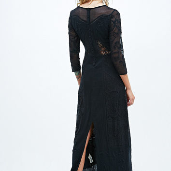 Free People Say You Love Me Maxi Dress in Black - Urban Outfitters