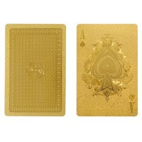 Gold Playing Cards by IDEA International