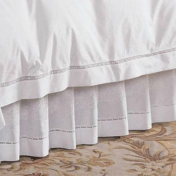 Francesca Bed Skirt by Sferra