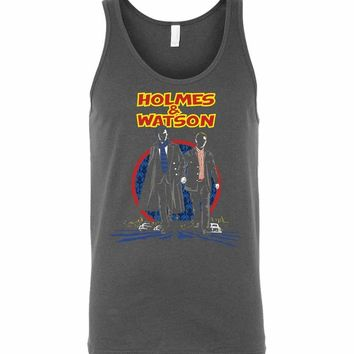 Holmes And Watson Unisex Tank Top