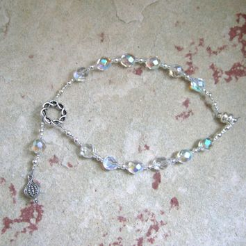 Persephone Travel Prayer Beads: Greek Goddess of Spring, Death and the Afterlife