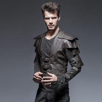 Men's Steampunk Armour Jacket