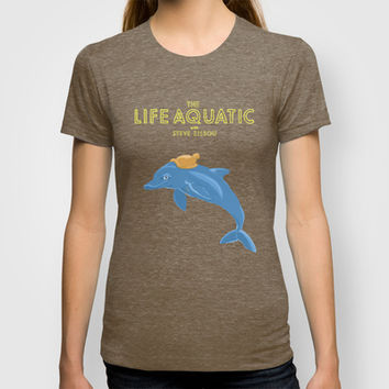 the life aquatic with steve zissou T-shirt by christopher-james robert warrington