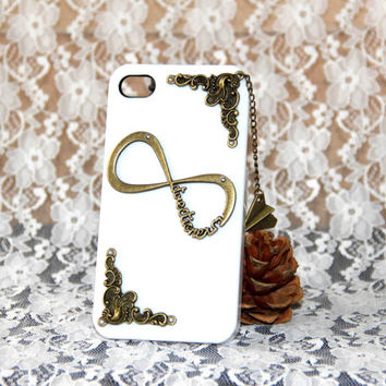 one direction protective case with airplane pendant for iPhone 5/4/4s,1D directioner phone case,personalized gift,mobile accessories