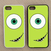 Monsters Inc Mike Wazowski Cute Pixar iPhone Case, iPhone 4 Case, iPhone 5 Case, iPhone 4 Case - SKU: 125