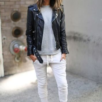 Sincerely Jules 'Lux' Skinny Cotton Jogger Pants | Nordstrom