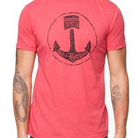 Iron & Resin Hell Or High Water T-Shirt - Mens Tee - Red