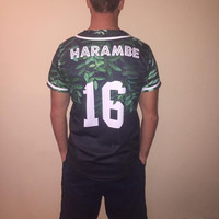 Limited Edition Harambe Baseball Jersey
