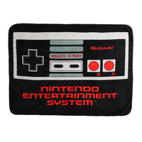 Nintendo NES Classic Controller Throw Blanket